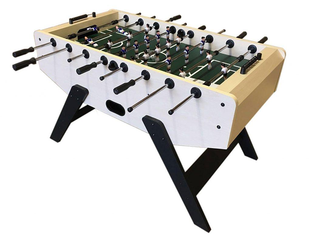 Mesa de futbolín de madera
